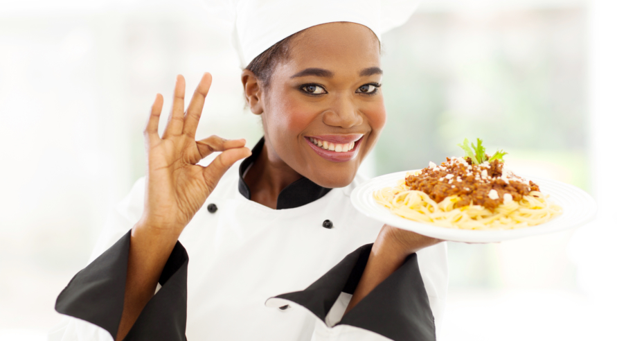 African chef